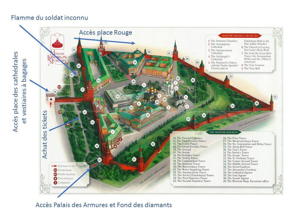 Le palais des Térems, Kremlin de Moscou