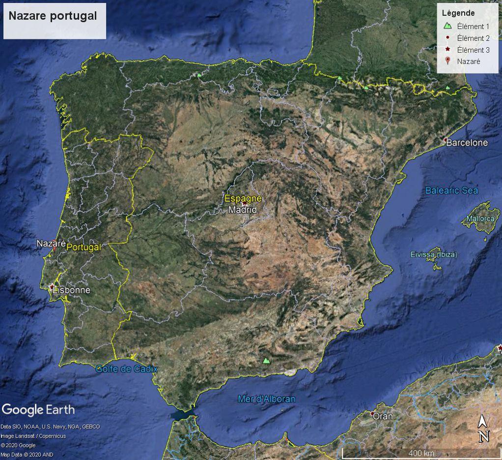Plage de Nazaré (Portugal), Vente de poisson