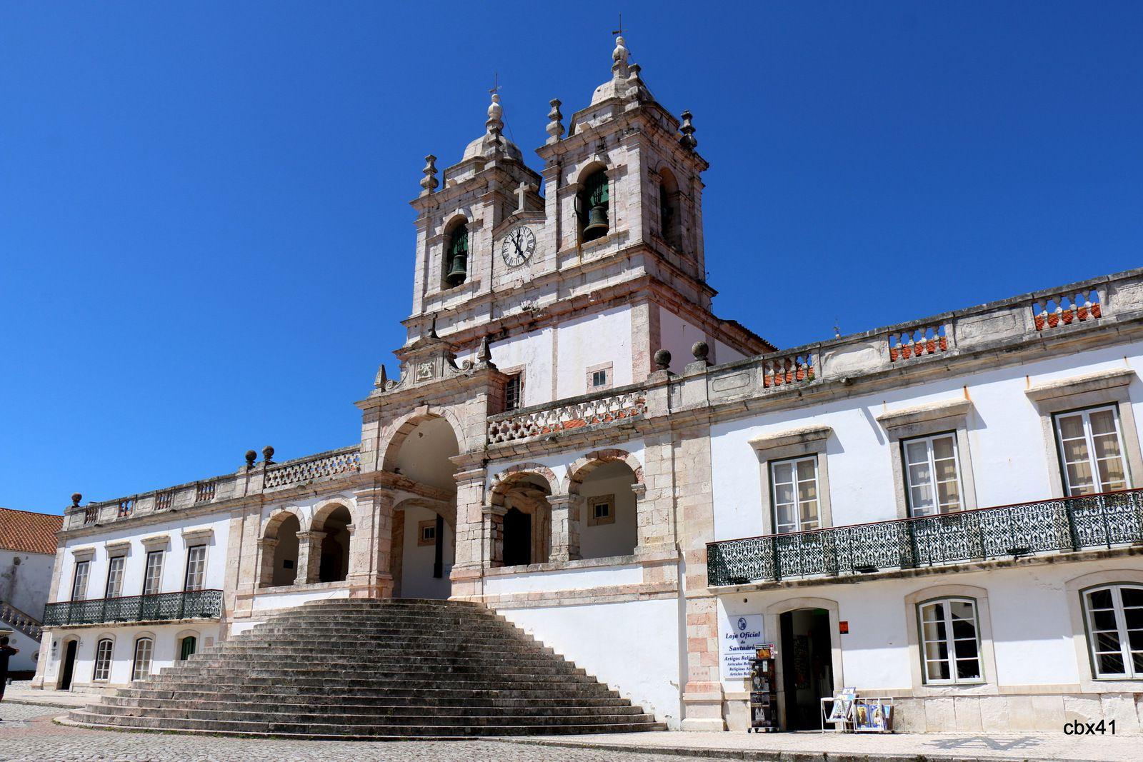 Sanctuaire de Notre-Dame de Nazaré, Sitio (quartier haut de Nazaré) Portugal