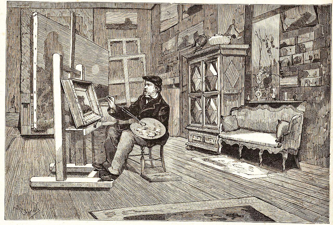 Charles François Daubigny, Pêcheurs à pied à Villerville