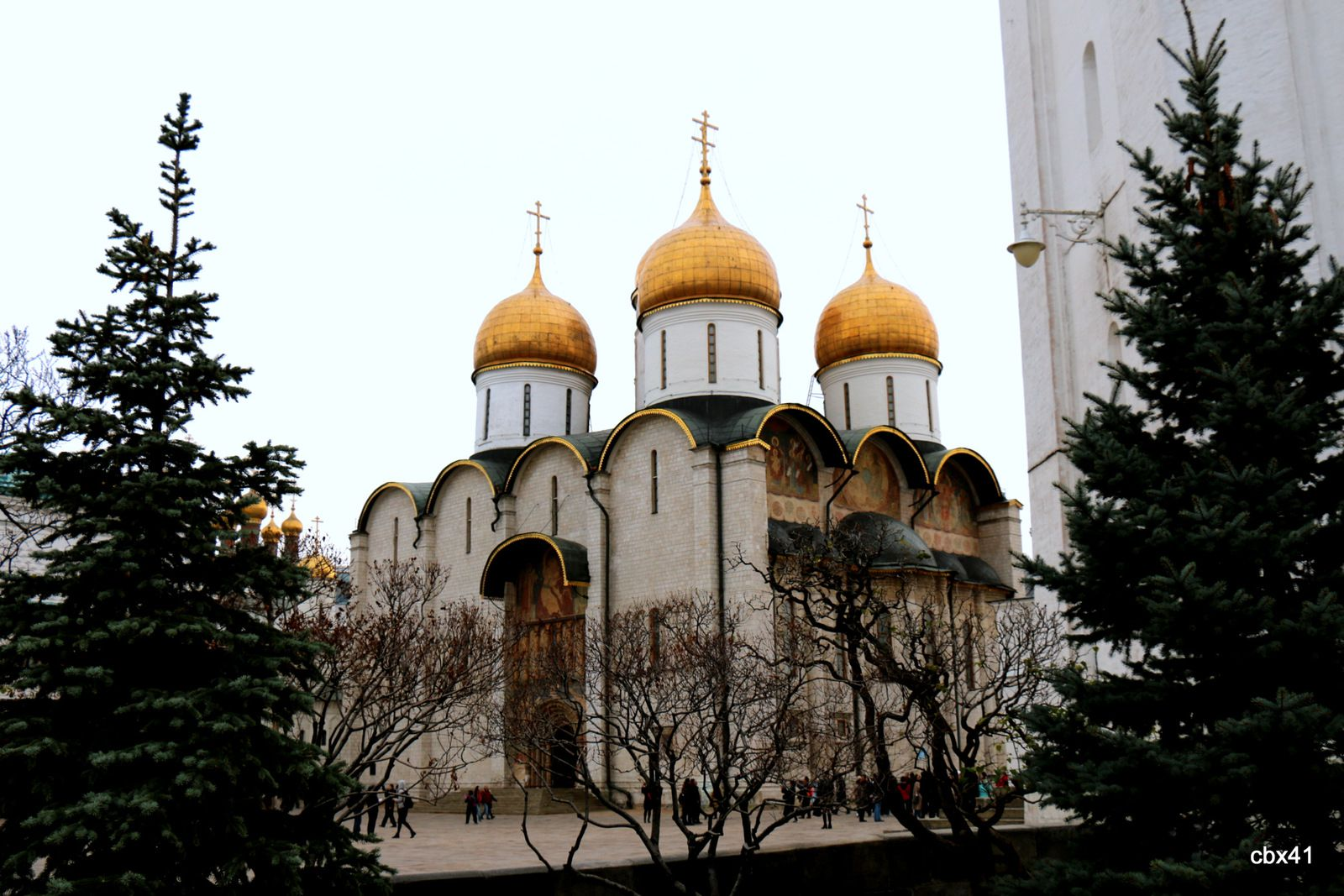 La cathédrale de la Dormition, Kremlin de Moscou