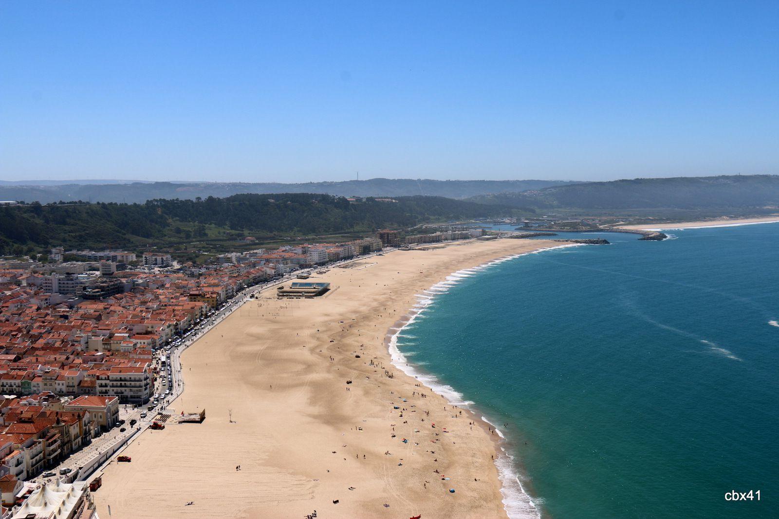 Le Sitio, quartier haut de Nazaré (Portugal)