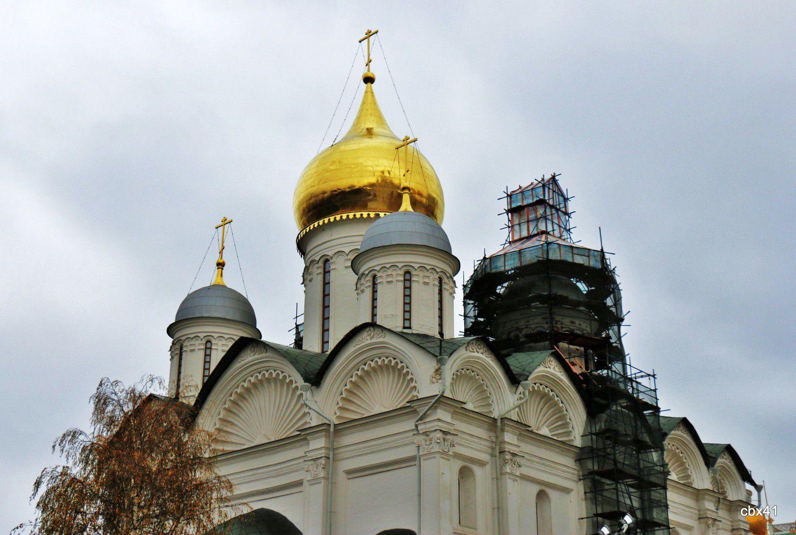 La cathédrale de l'Archange-Saint-Michel, Kremlin de Moscou