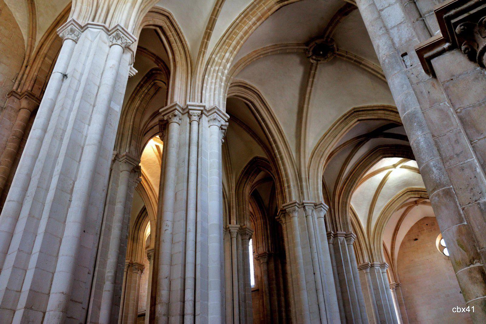 Eglise du monastère d'Alcobaça (Portugal)