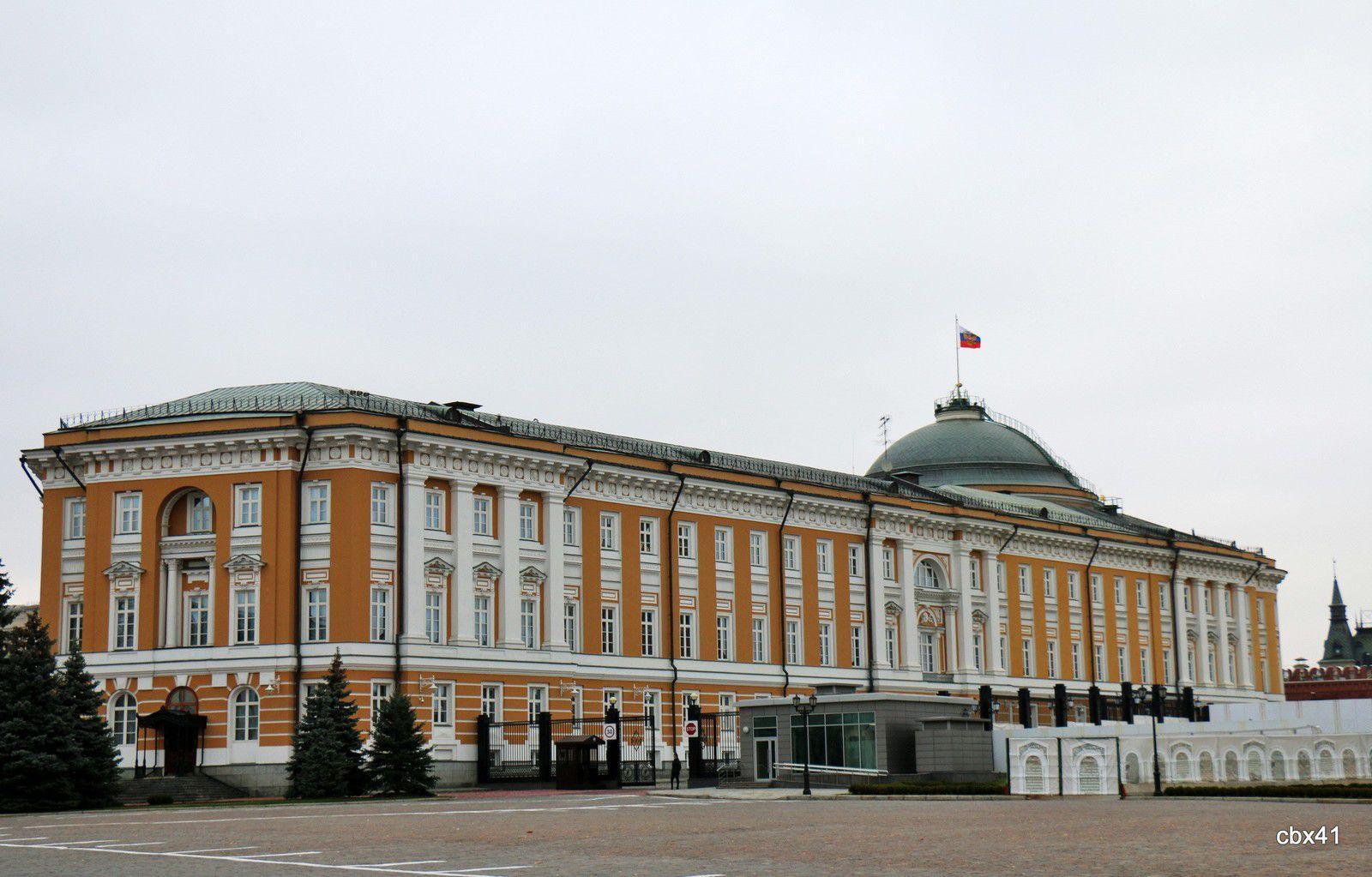 Le palais du Sénat, Kremlin de Moscou