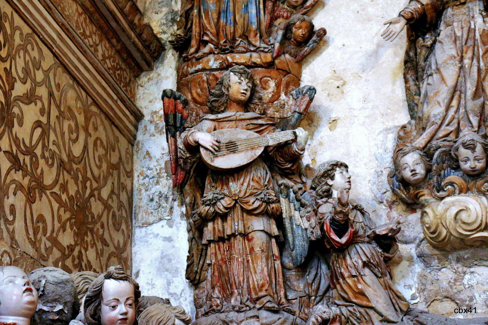 Chapelle de Saint Bernard, Eglise du monastère d'Alcobaça (Portugal)