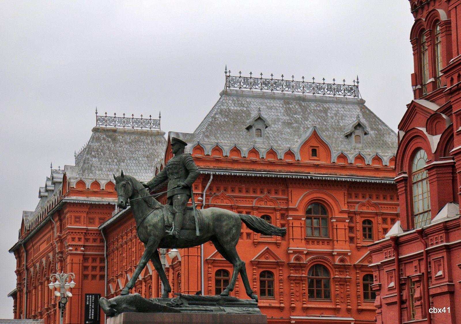 Gueorgui Joukov, statue équestre (Moscou)