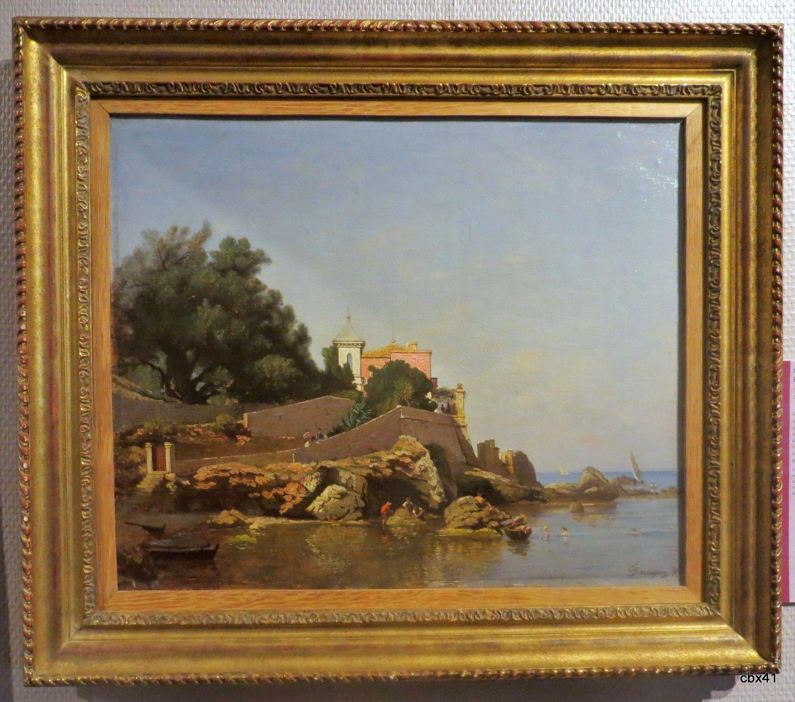 François Louis Français, Bord de mer en Italie