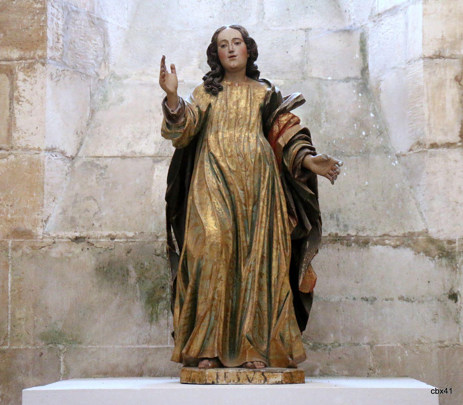 Le Christ, Eglise du monastère d'Alcobaça (Portugal)
