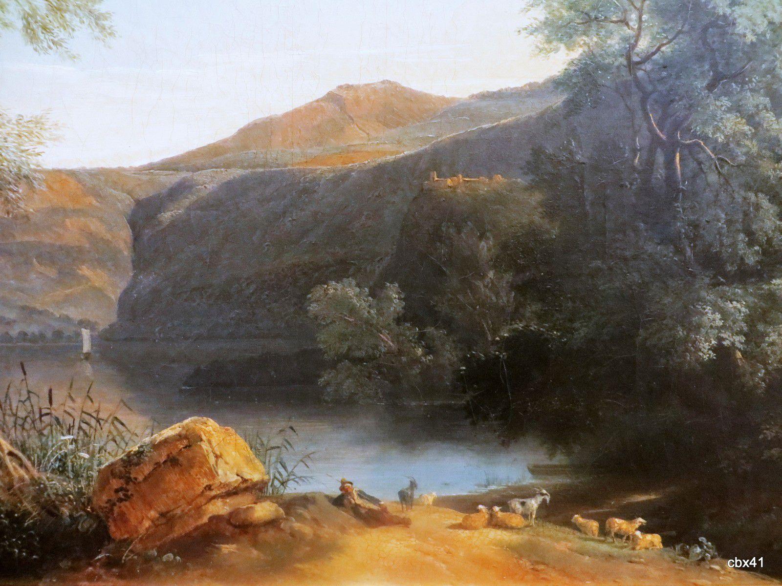 Jules Coignet, Le lac de Nemi en Italie