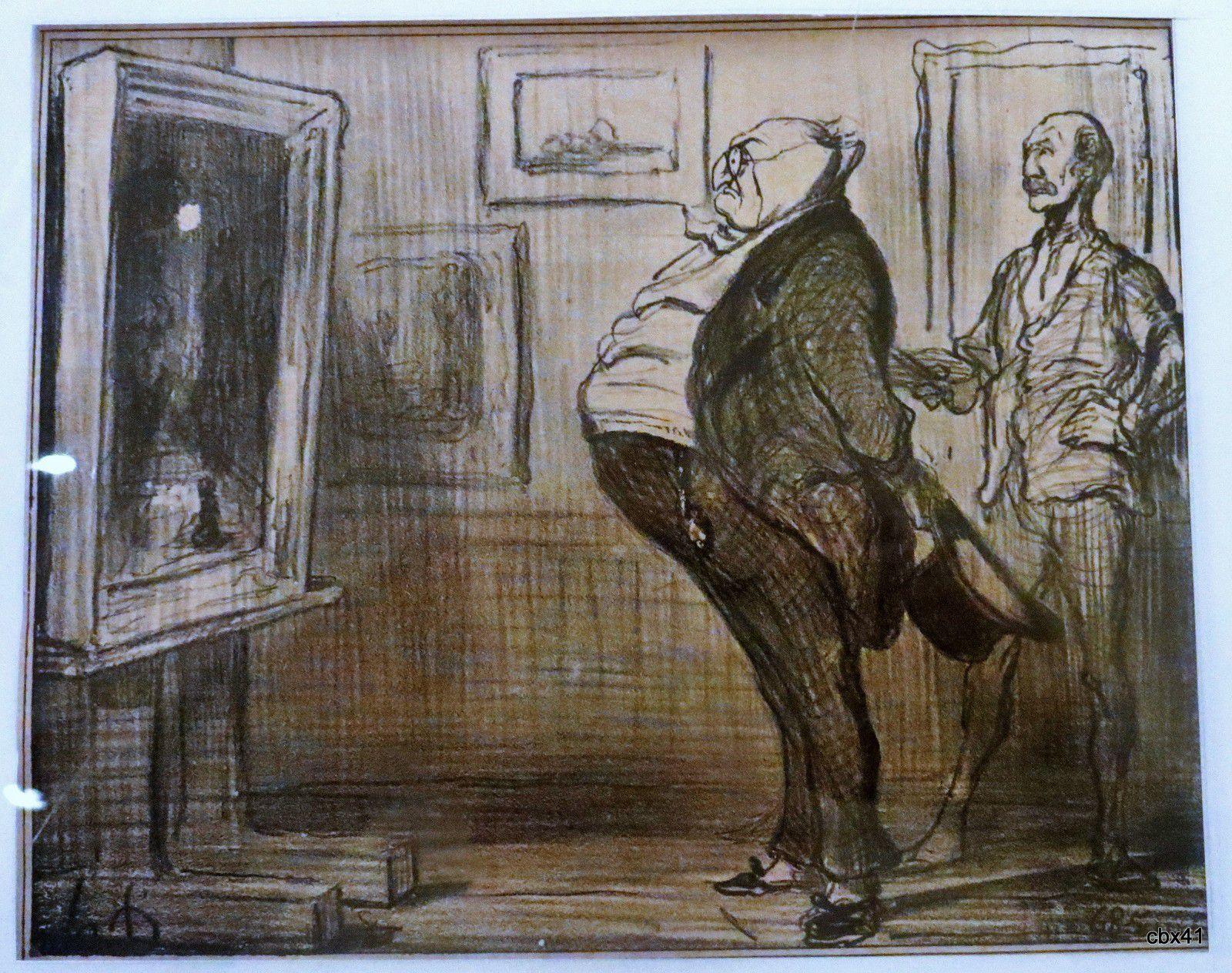 Honoré Daumier, Lithographie Le Charivari