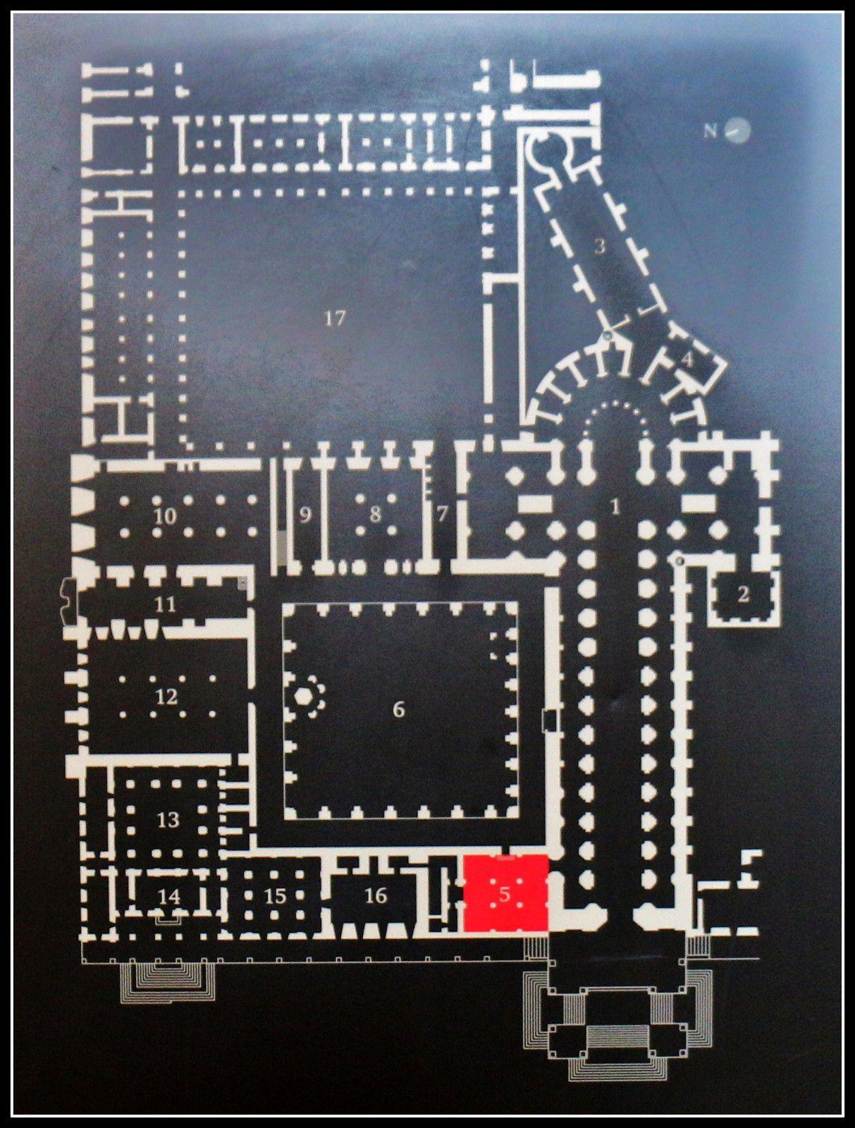 La Salle des Rois du monastère d'Alcobaça, Portugal (1/4)