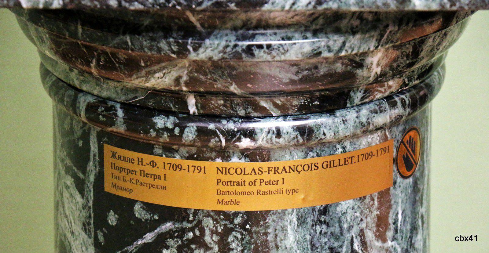 Nicolas-François Gillet, Buste de Pierre Ier le Grand