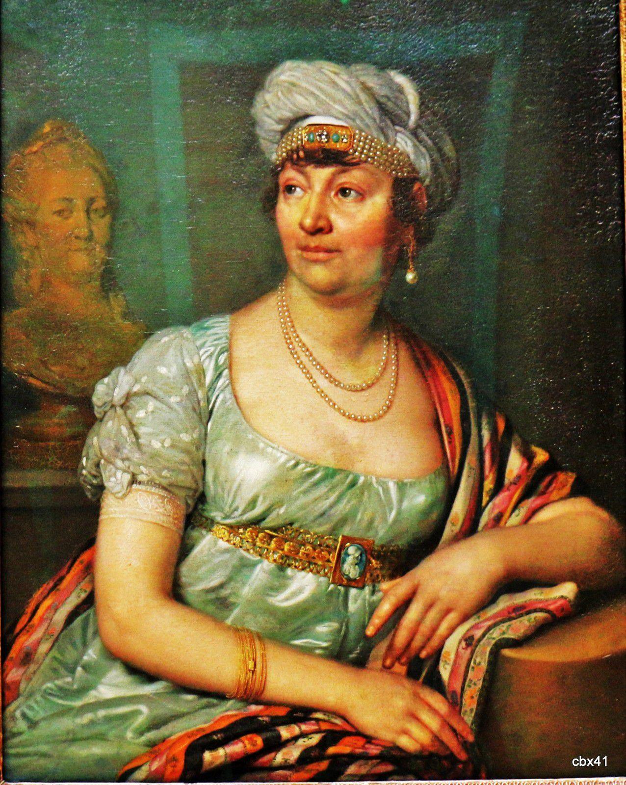 Vladimir Loukitch Borovikovski, Anne-Louise-Germaine Necker, baronne de Staël-Holstein