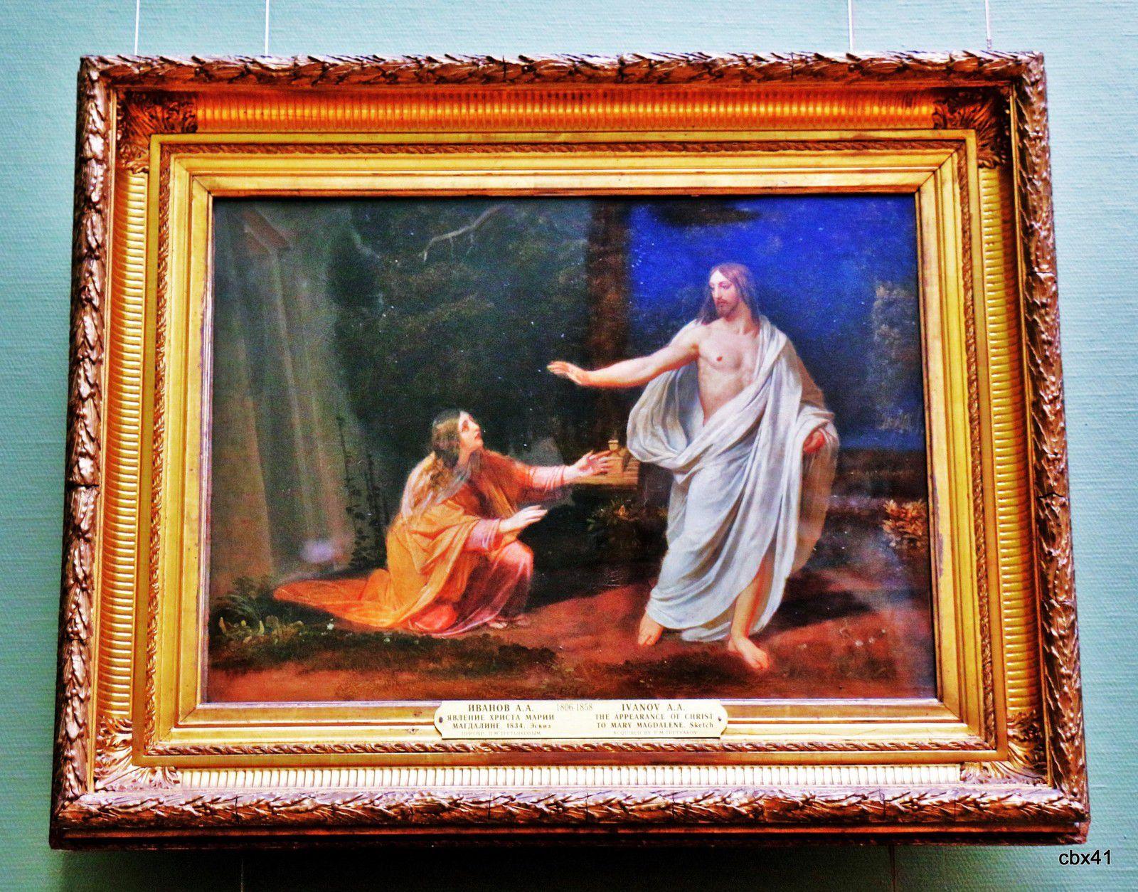 A. A. Ivanov, Apparition du Christ à Marie-Madeleine