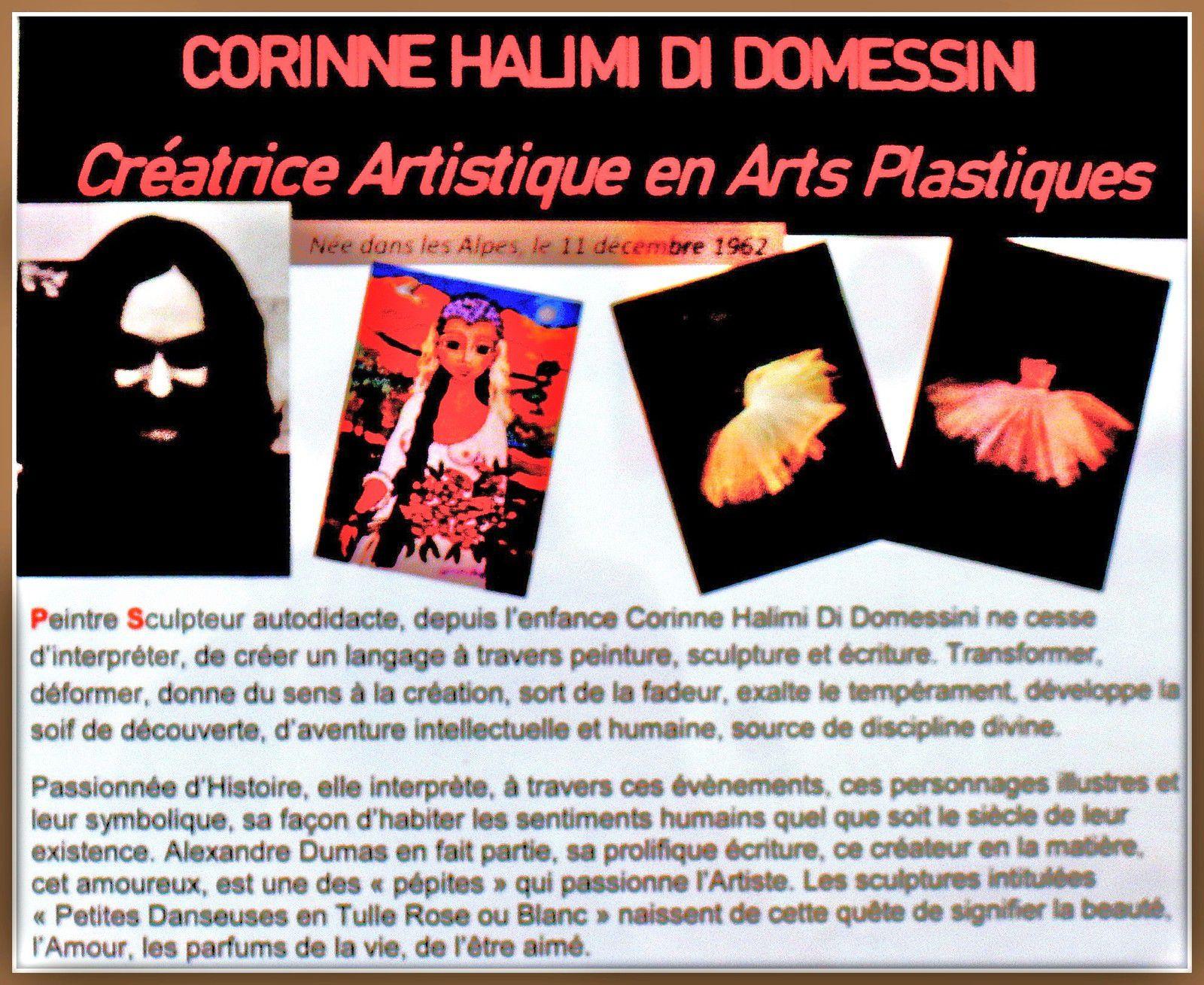 Corinne Halimi Di Domessini, Cher Alexandre Dumas et Venice
