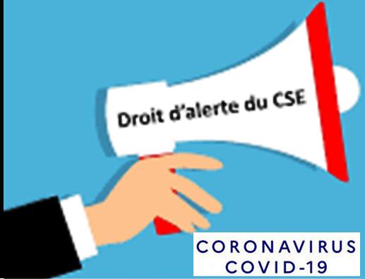 Information Droit d'alerte CSE Nord-Est (Suite)