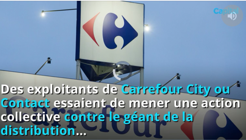 Les franchises du Groupe CARREFOUR se rebellent !
