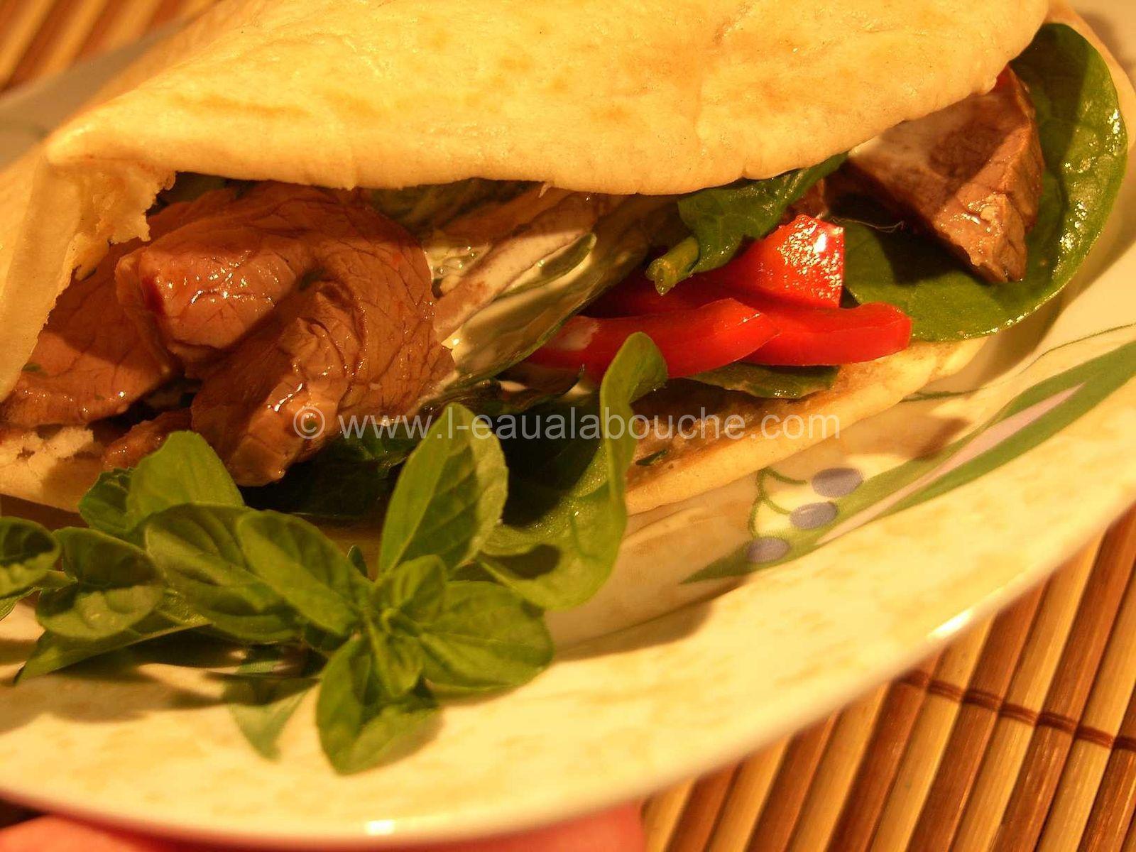 Kebab au Roastbeef