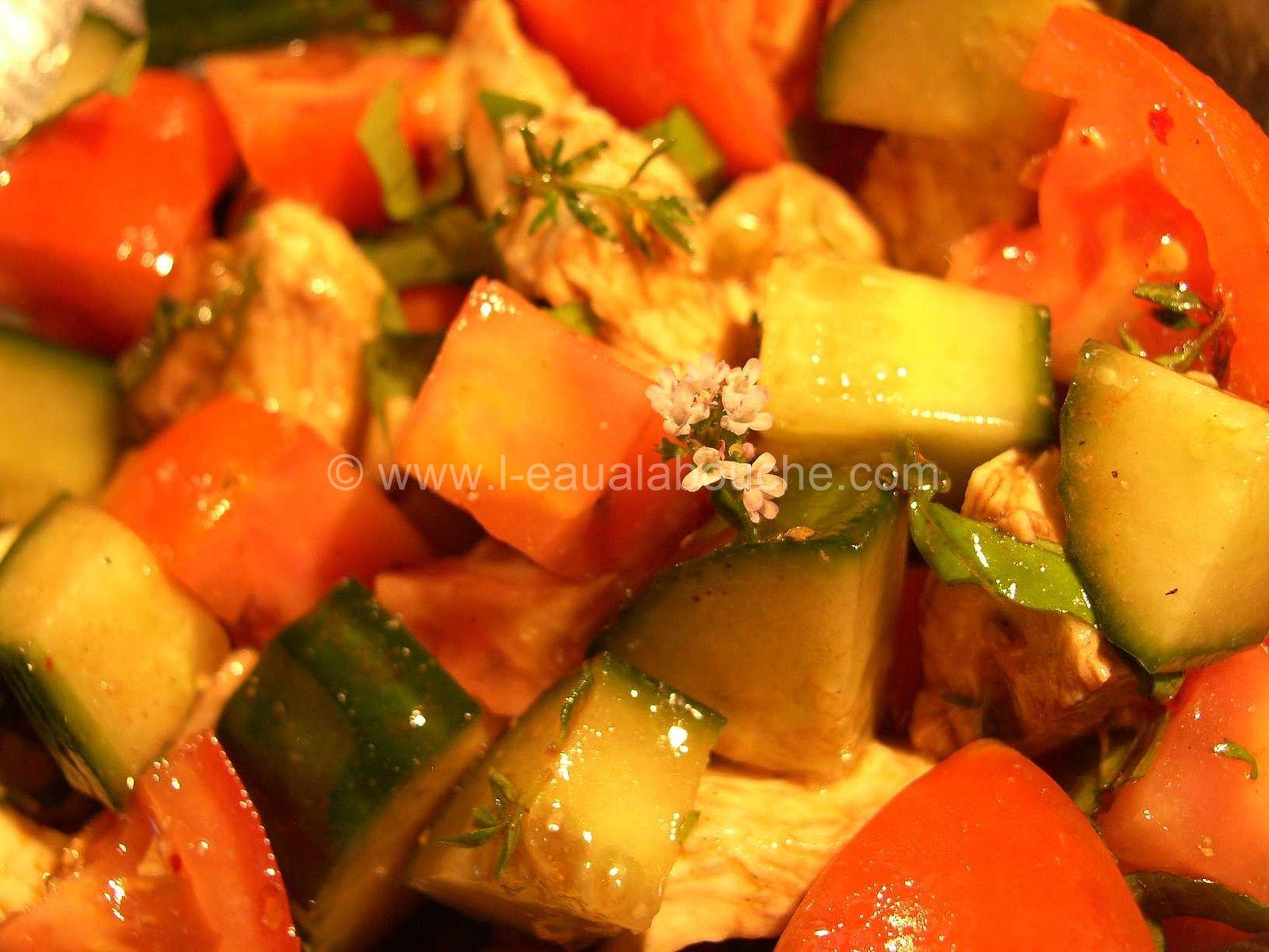 Salade de Poulet Estivale
