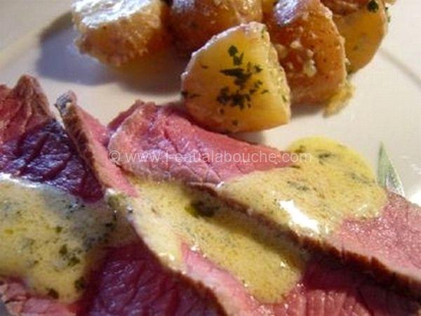 Roast-Beef et Sauce Moutarde