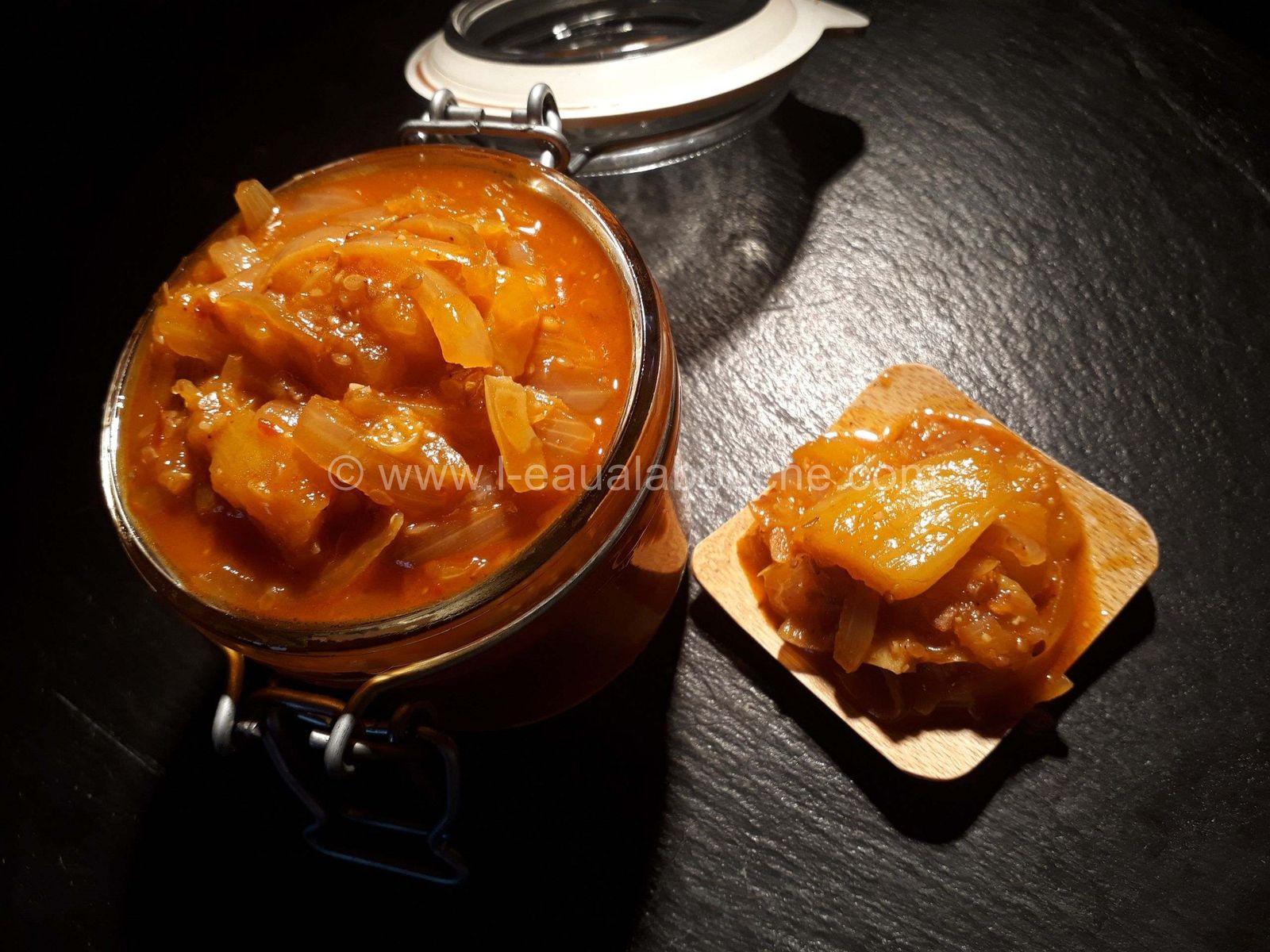 Chutney à l'Ananas