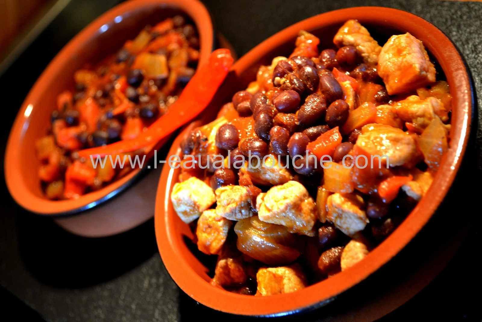 Chili con Carne ou Pas aux Haricots Adzuki