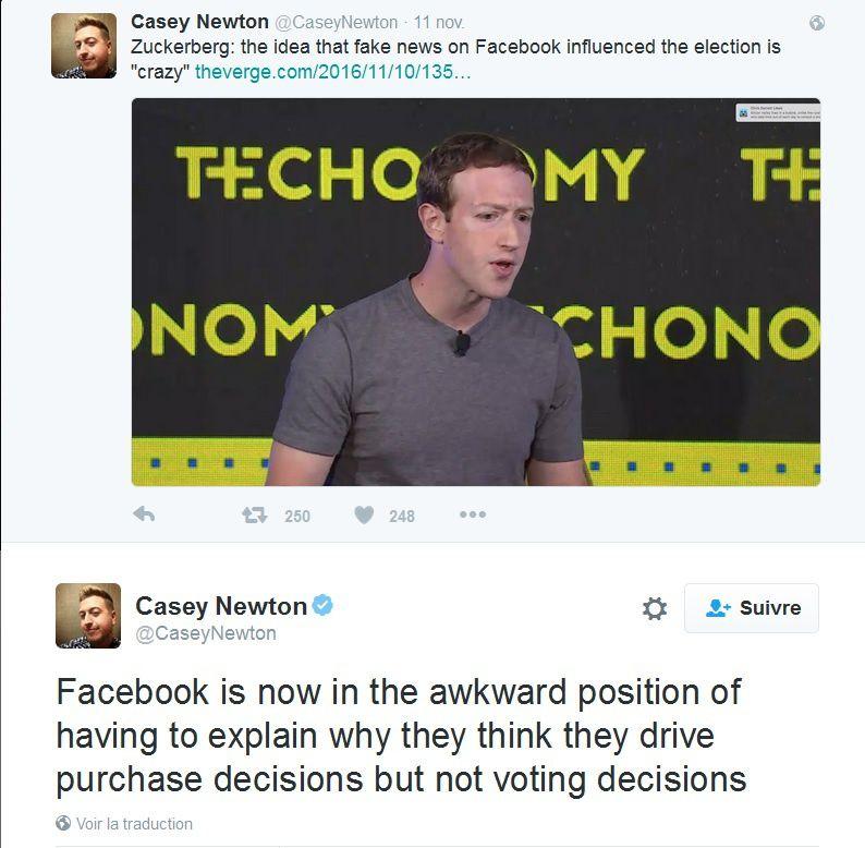 Un influenceur nommé Facebook