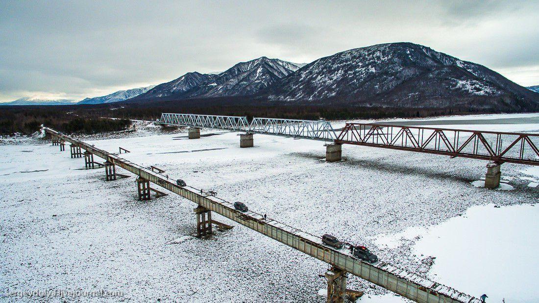 Un pont en Russie
