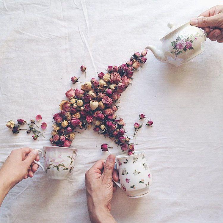 Thé floral