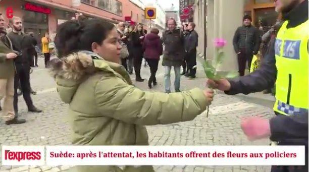 Suède : la petite fille à la fleur