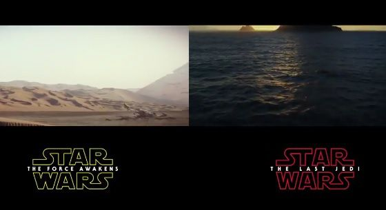 Star Wars, trailer contre trailer