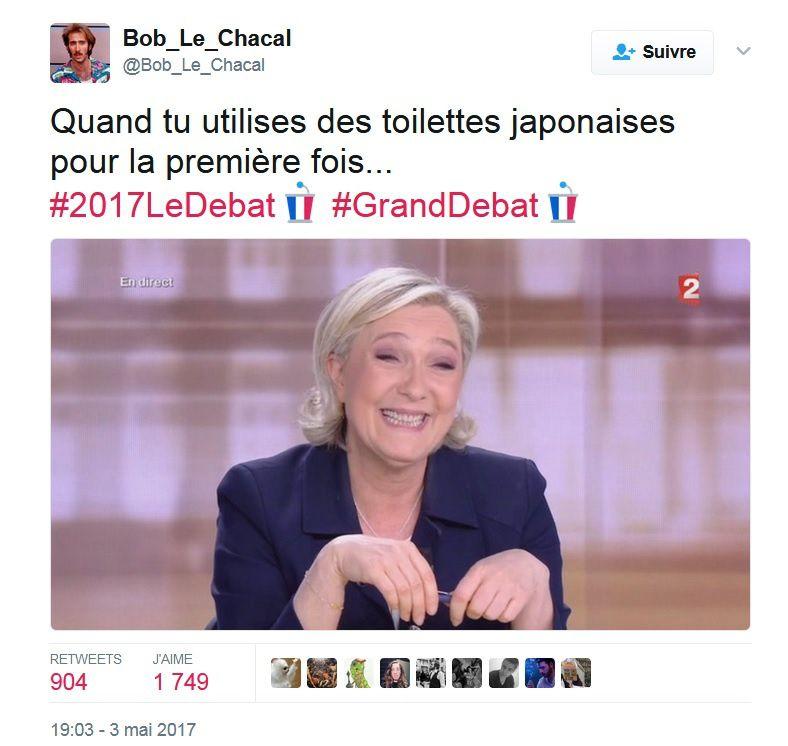 L'un fait des téléphones,  l'autre des turbines, Mme Le Pen !