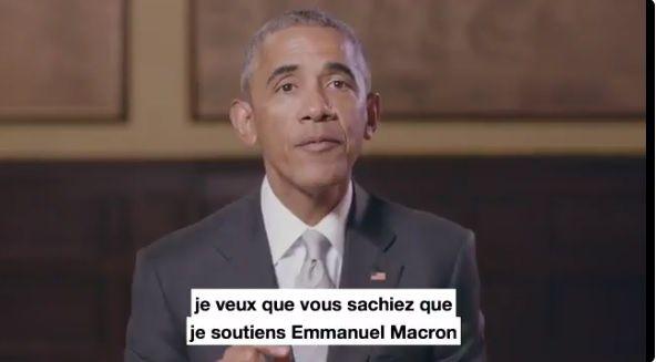 Vive la France ! Thanks Barack !