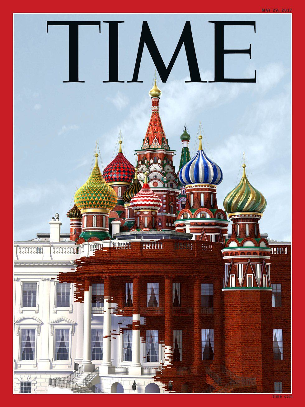 La couverture animée du Time