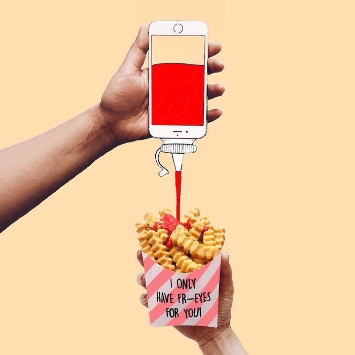 Avec un iPhone et du papier