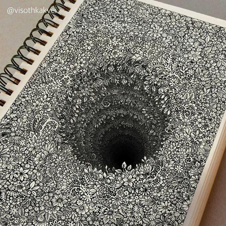 Les illusions 3D de Visoth Kakvei