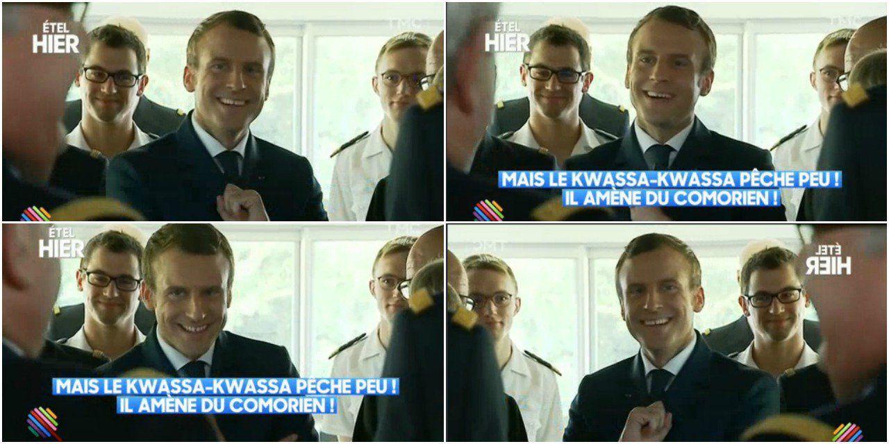 Macron : « Le kwassa-kwassa pêche peu ! Il amène du Comorien ! »