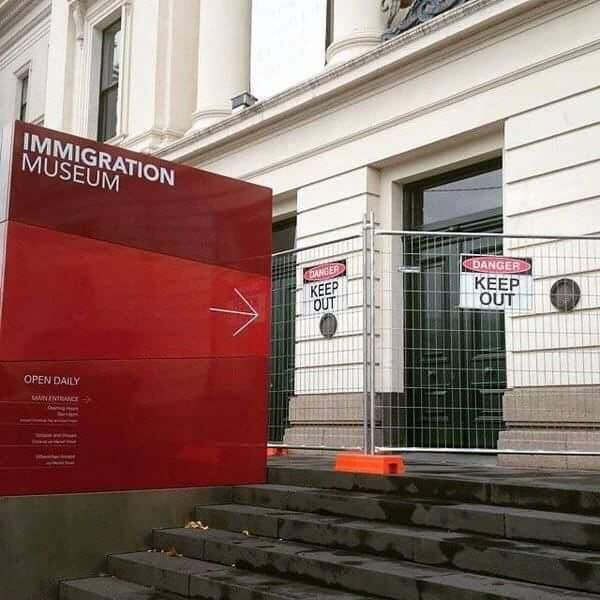 Musée de l'immigration...