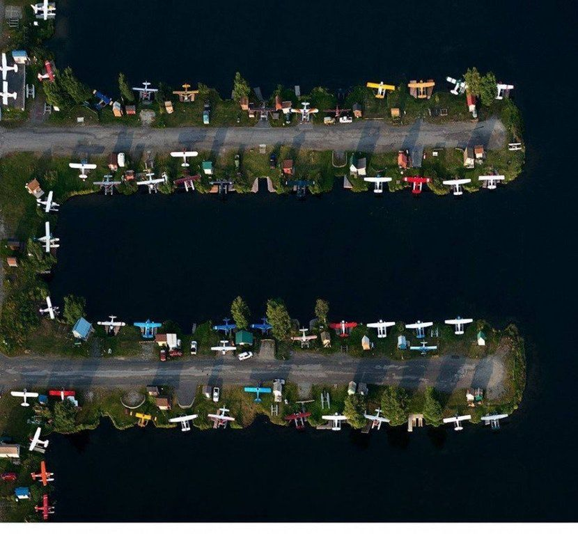 Parking d'hydravions