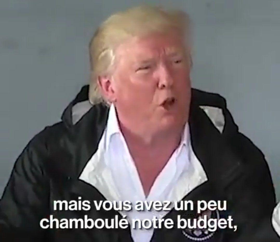Trump visite Porto Rico