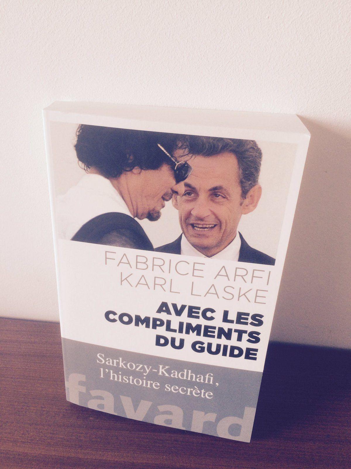Fabrice Arfi : financement de la campagne de Sarkozy en 2007 et les liens de l'ex-président avec Kadhafi.