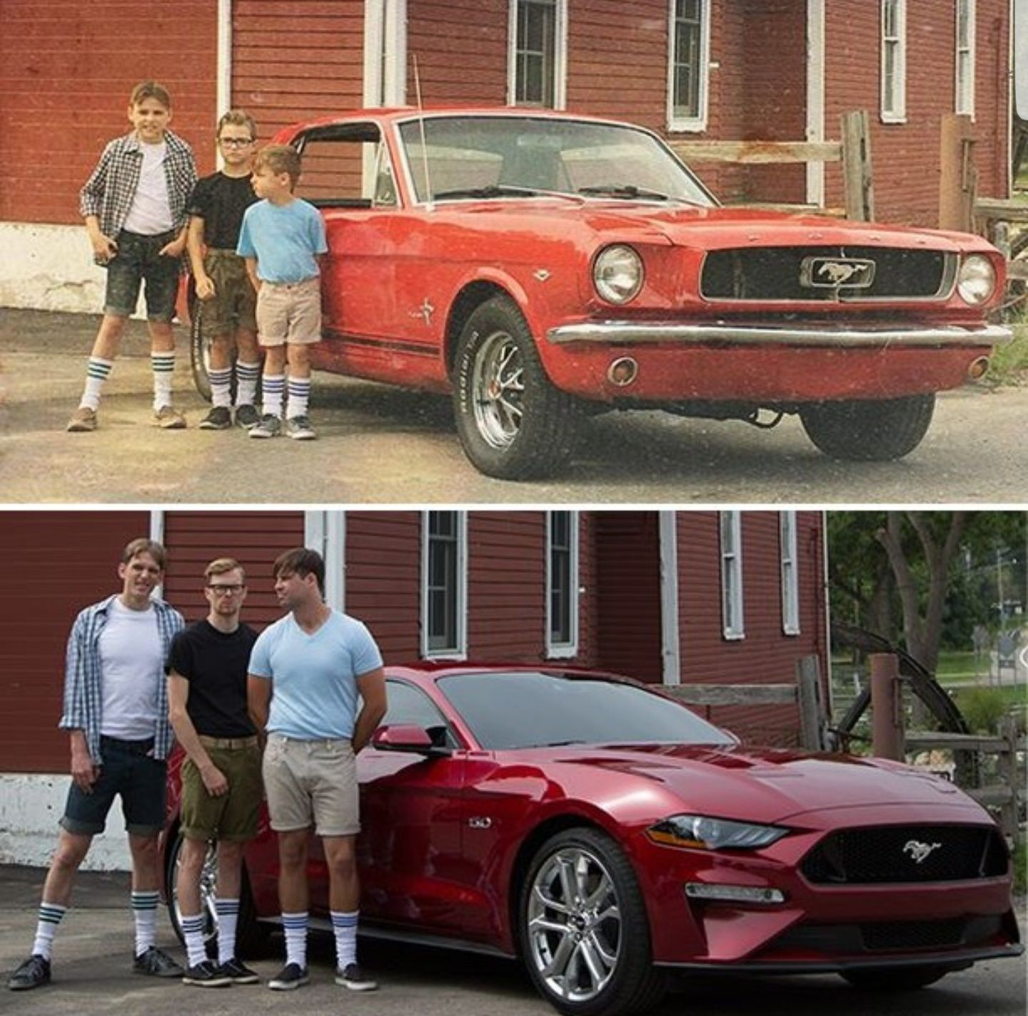 For dad or Ford ad