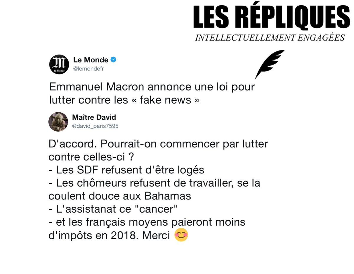 "Les ""fake news"""