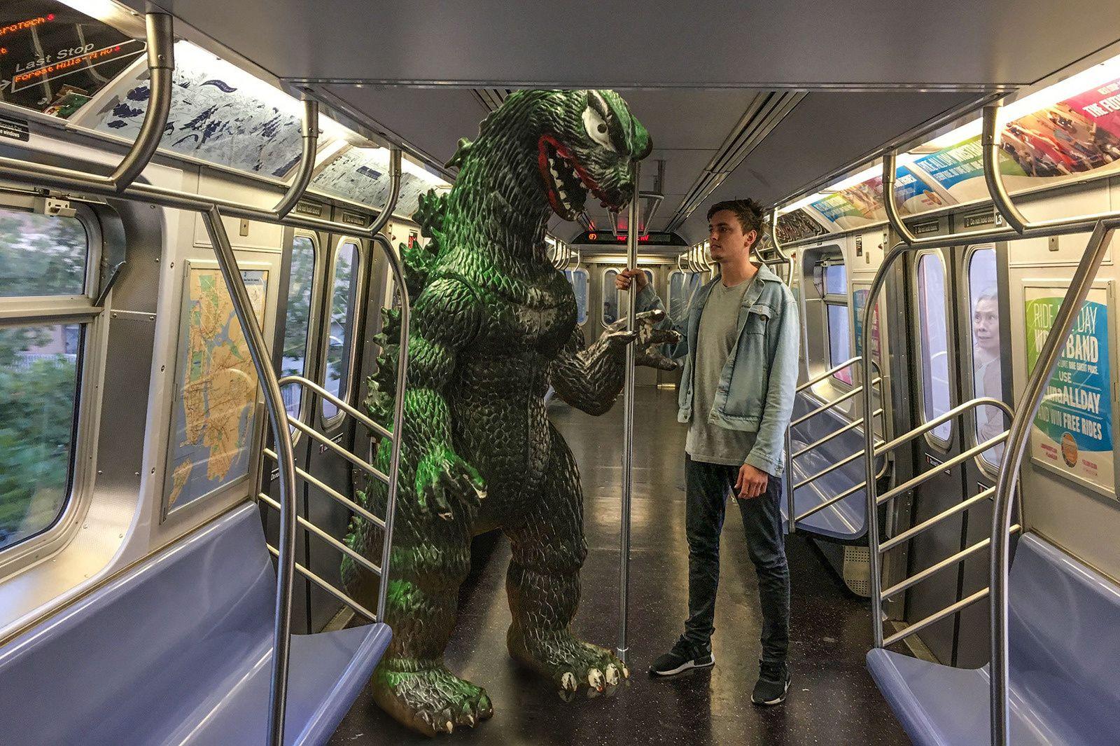 En balade avec Godzilla
