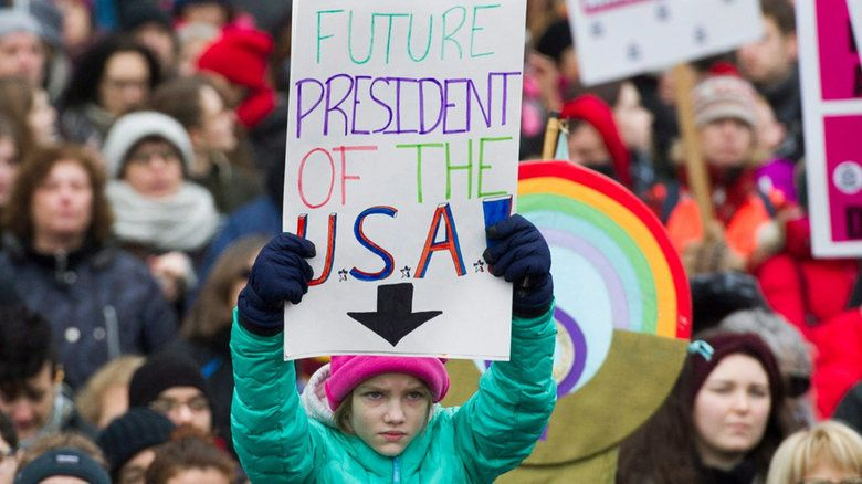 USA : la marche des femmes