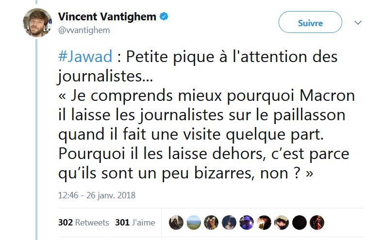 Jawad, startuper contrarié