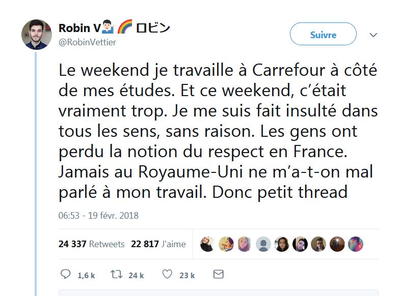 [Thread] le respect en France