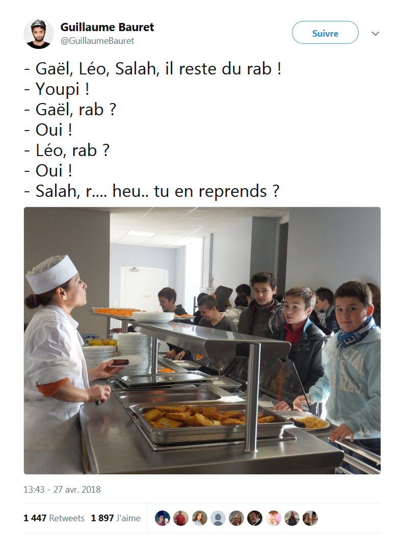 Salah, tu en reprends ?