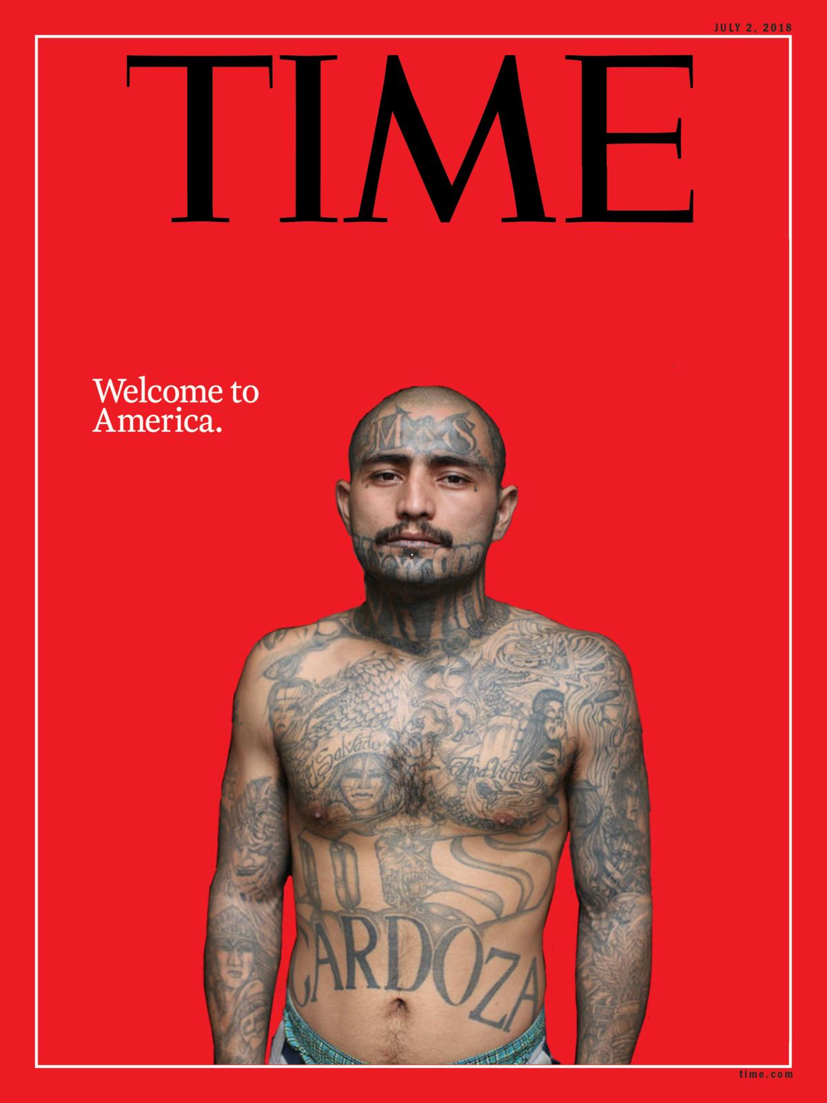 La couve du Time détournée par les pro-Trump